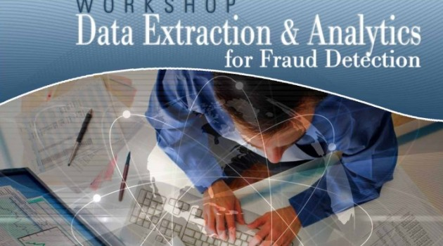 """Workshop """" Data Extraction and Analytics for Fraud Detection """""""