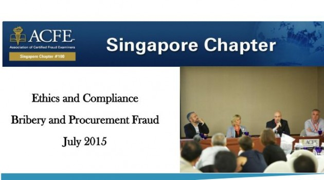 Ethics and Compliance Bribery and Procurement Fraud July 2015