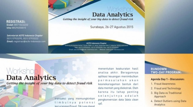 "Workshop ""Data Analytics : Getting the insight of your big data to detect fraud risk"""